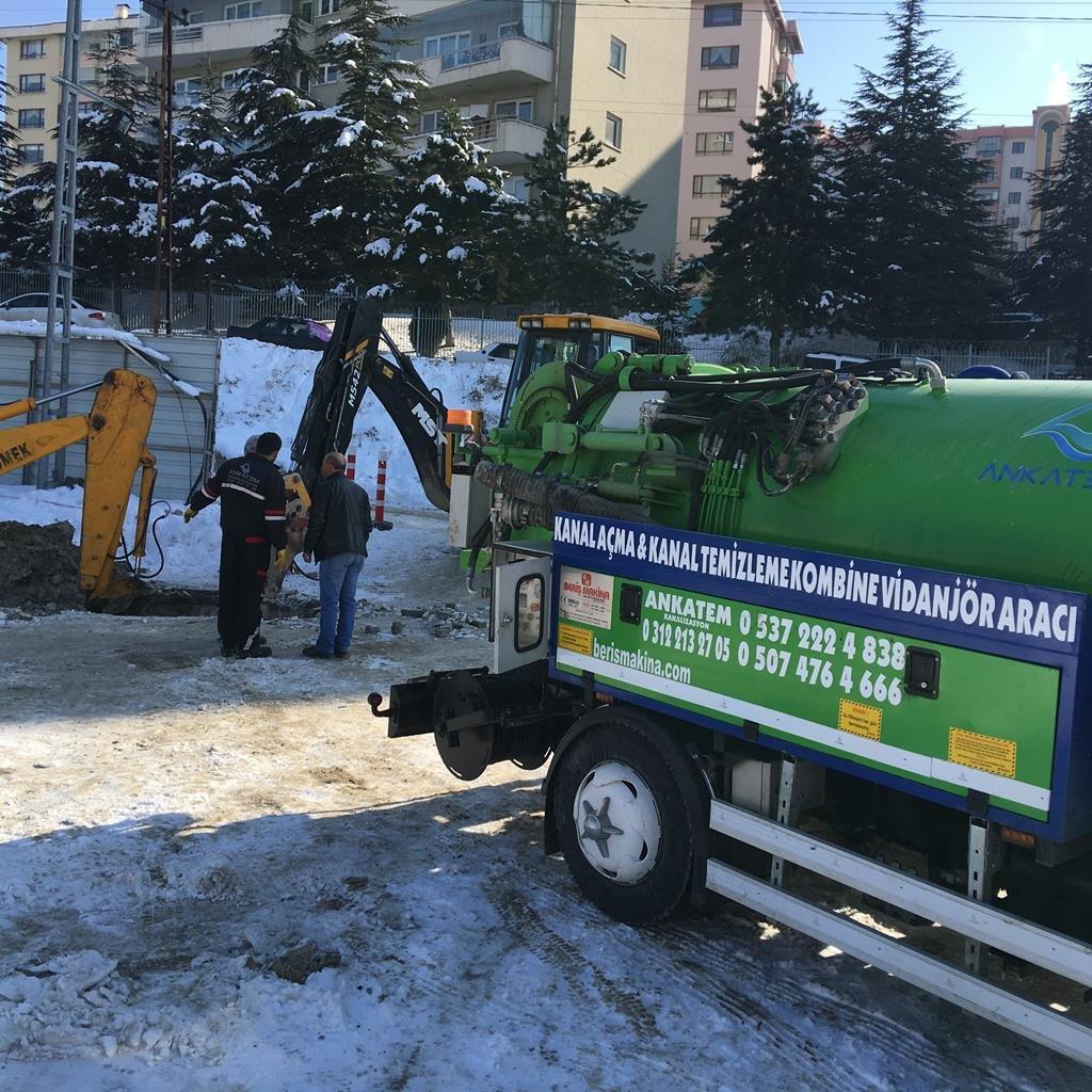 Ankara Kanalizasyon Açma